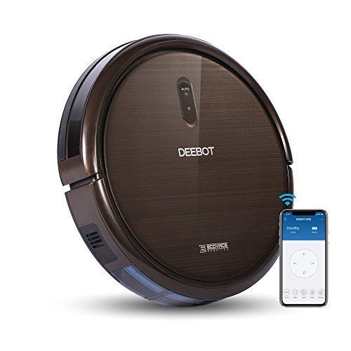 ecovacs robotics deebot n79s mit app alexa steuerung. Black Bedroom Furniture Sets. Home Design Ideas