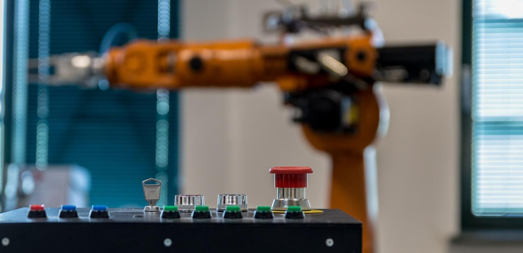 Roboterarm Industrie